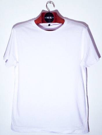 Remera Hombre Blanca Premium