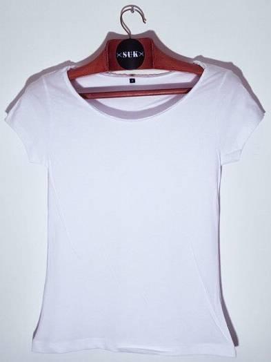 Remera Mujer Blanca Premium
